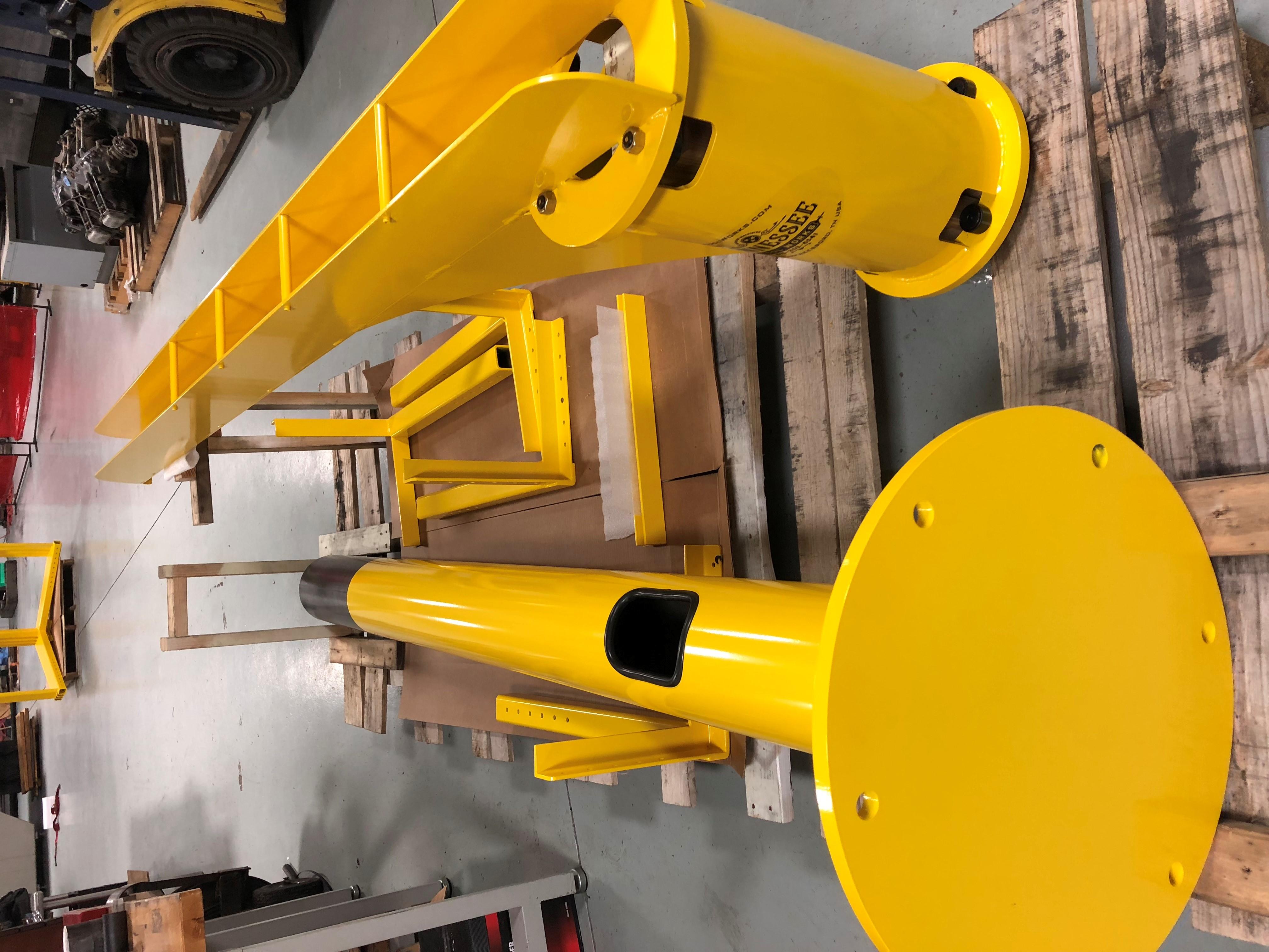 Fabricated Crane