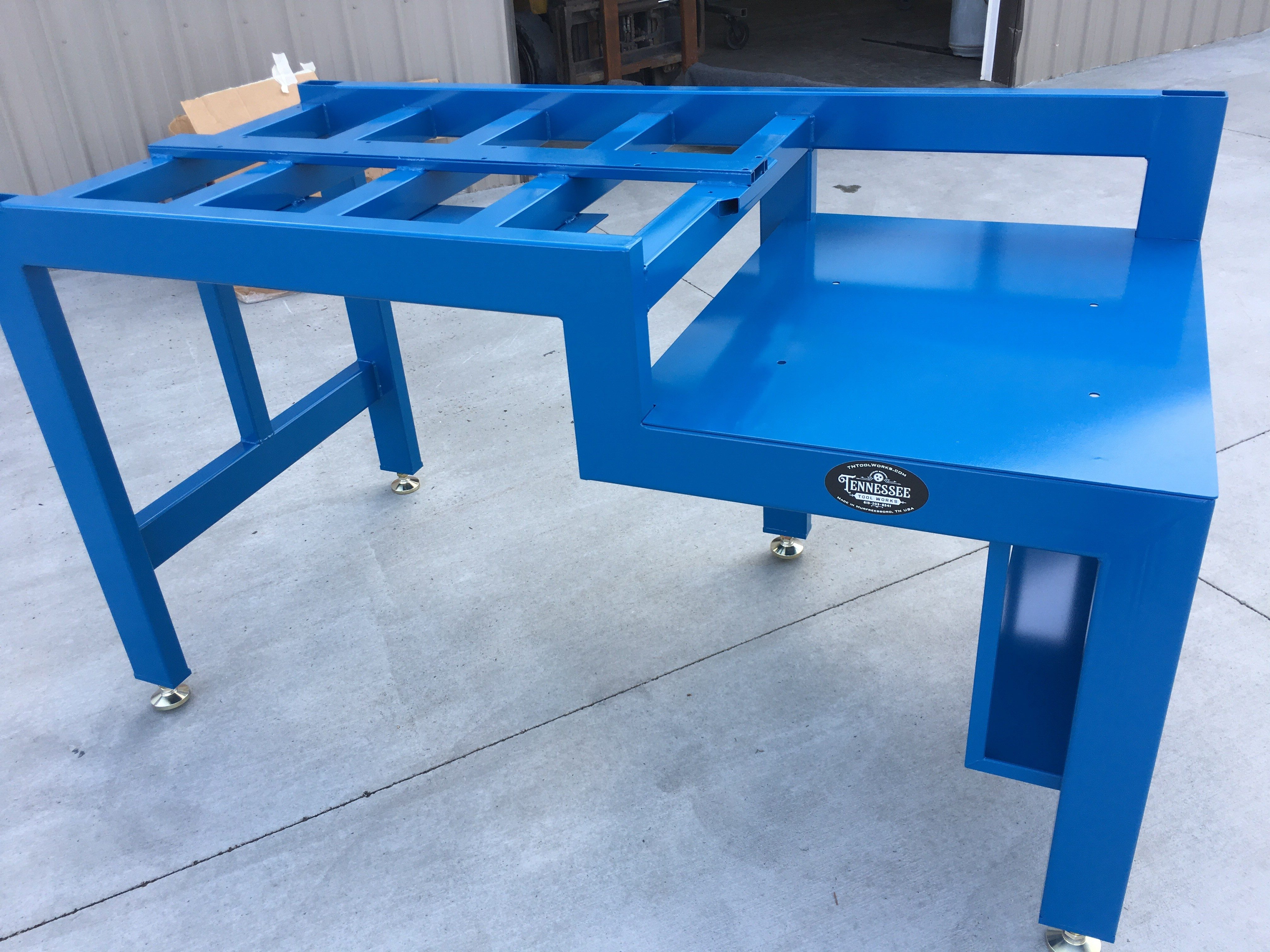 Fabricated Test Bench