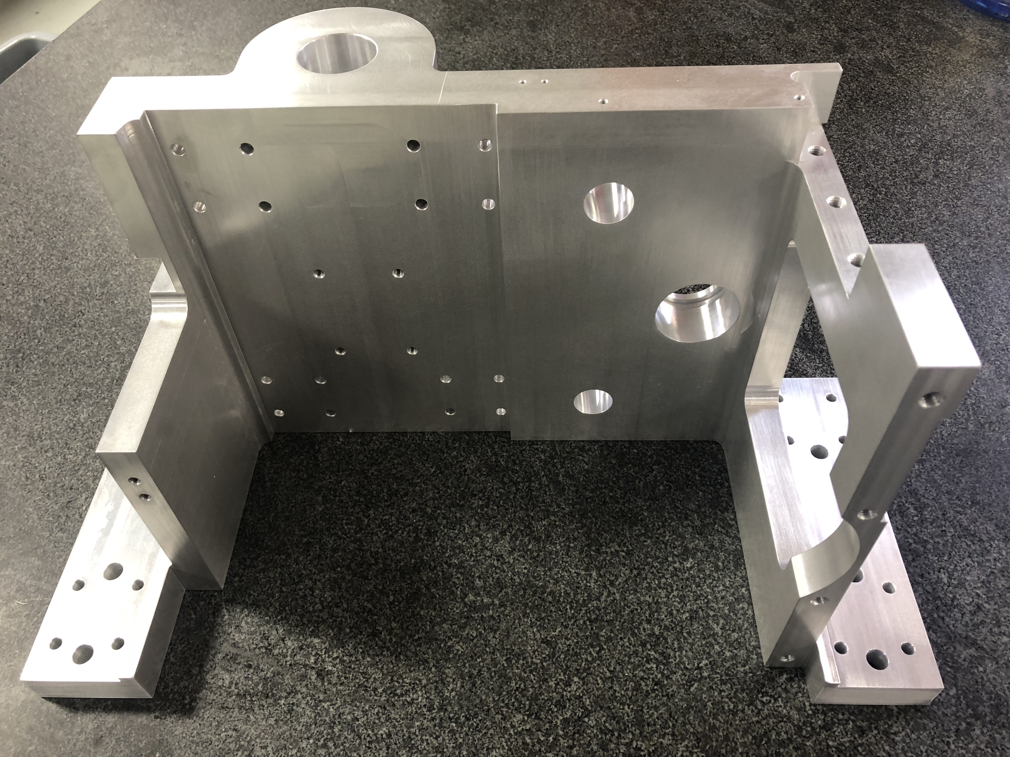 Wire EDM / Machined Alum Block